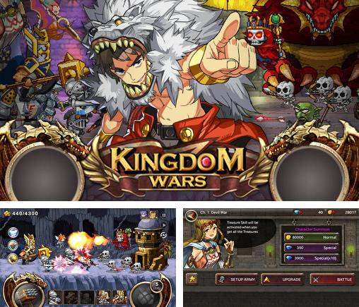 In addition to the game Boom and doom for Android phones and tablets, you can also download Kingdom wars for free.
