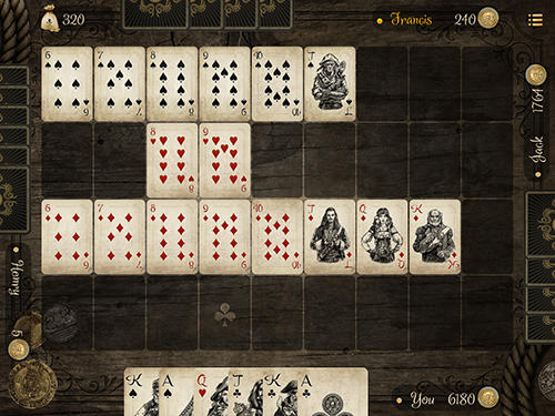 Screenshots von Kings and pirates: Premium card games für Android-Tablet, Smartphone.