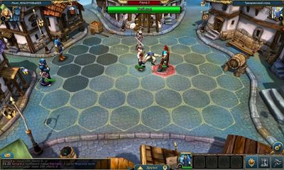 Screenshots of the King's Bounty Legions for Android tablet, phone.