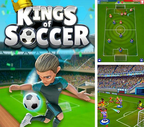 In addition to the game Retro soccer: Arcade football game for Android phones and tablets, you can also download Kings of soccer for free.