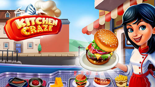 Kitchen craze: Master chef cooking game poster