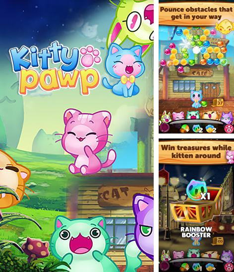 Zusätzlich zum Spiel Ägyptische Blasen für Android-Telefone und Tablets können Sie auch kostenlos Kitty pawp: Bubble shooter, Kitty Pawp: Bubble Shooter herunterladen.