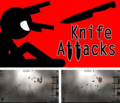 Knife attacks: Stickman battle