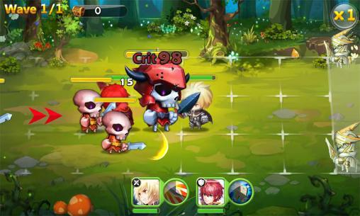 Screenshots von Summon masters für Android-Tablet, Smartphone.