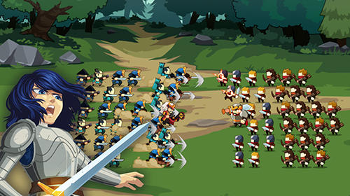 Knights and glory: Tactical battle simulator screenshot 5