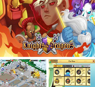 In addition to the game Chaos War for Android phones and tablets, you can also download Knights & Dragons for free.