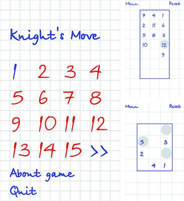 In addition to the game Blocky for Android phones and tablets, you can also download Knight's Move for free.
