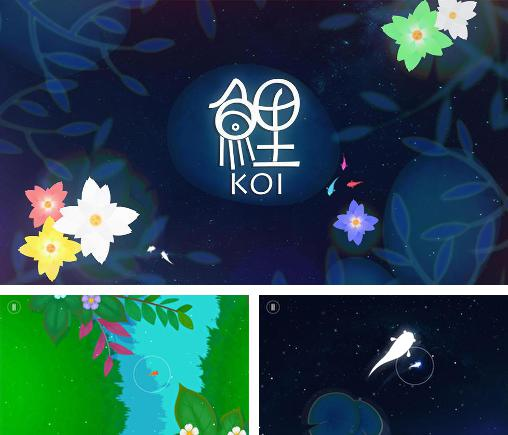 In addition to the game Love engine for Android phones and tablets, you can also download Koi: Journey of purity for free.