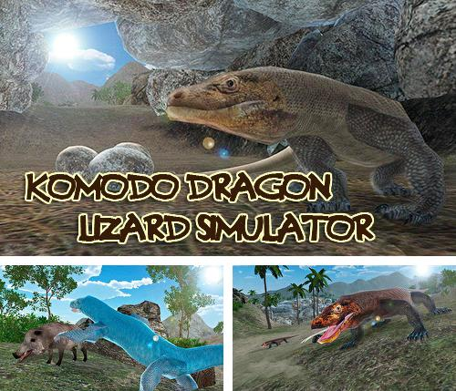 Komodo dragon lizard simulator