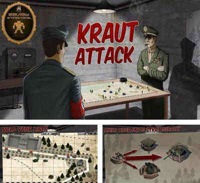 In addition to the game Egyptian Pyramids for Android phones and tablets, you can also download Kraut Attack for free.