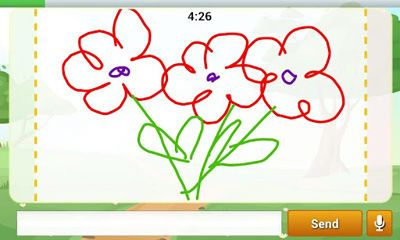 Screenshots von Draw and Guess für Android-Tablet, Smartphone.