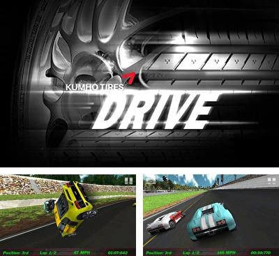 In addition to the game HTR High Tech Racing for Android phones and tablets, you can also download Kumho Tires Drive for free.