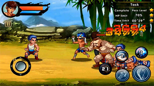 Kung fu attack screenshot 1