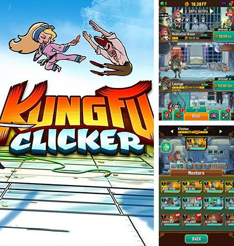 In addition to the game Wall kickers for Android phones and tablets, you can also download Kung fu clicker for free.