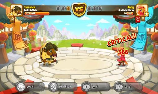 Screenshots von Kung fu pets für Android-Tablet, Smartphone.