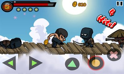 Screenshots do KungFu Warrior - Perigoso para tablet e celular Android.