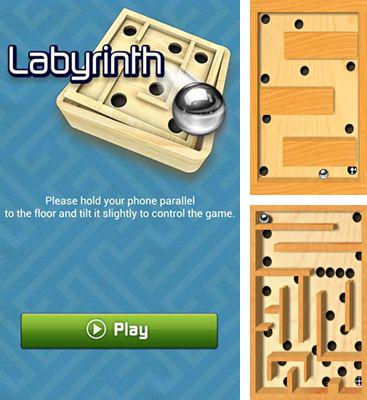 In addition to the game Marble Maze. Reloaded for Android phones and tablets, you can also download Labyrinth for free.