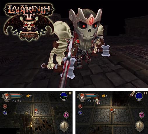 In addition to the game Deadly Dungeon for Android phones and tablets, you can also download Labyrinth of battle for free.