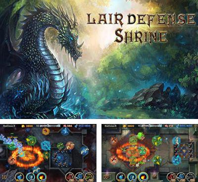 In addition to the game Ceramic Destroyer for Android phones and tablets, you can also download Lair Defense: Shrine for free.