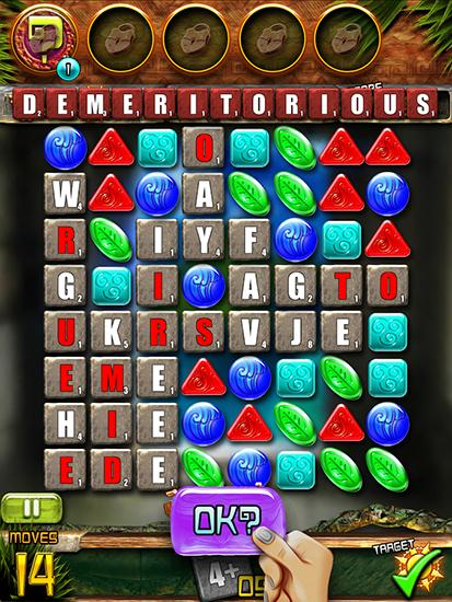 Screenshots von Languinis: Match and spell für Android-Tablet, Smartphone.
