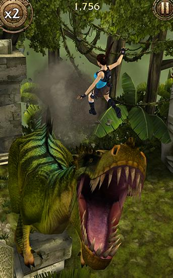 Screenshots do Lara Croft: Relic run - Perigoso para tablet e celular Android.