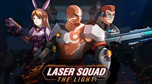 Laser squad: The light poster