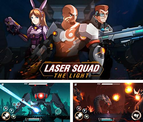 In addition to the game Laser squad: The light for Android, you can download other free Android games for Huawei Ascend Y600.
