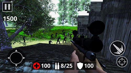 Screenshots of the Last dead Z day: Zombie sniper survival for Android tablet, phone.