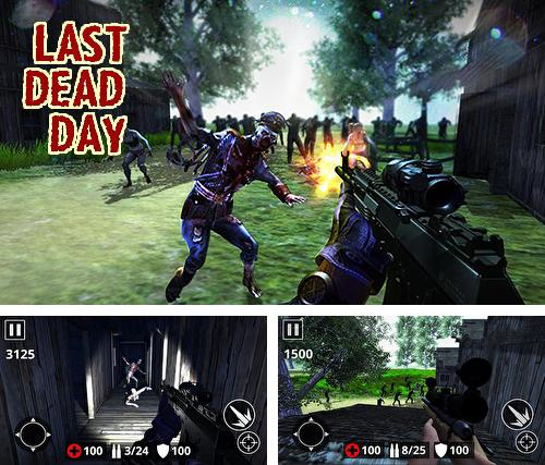 In addition to the game Last hope sniper: Zombie war for Android phones and tablets, you can also download Last dead Z day: Zombie sniper survival for free.