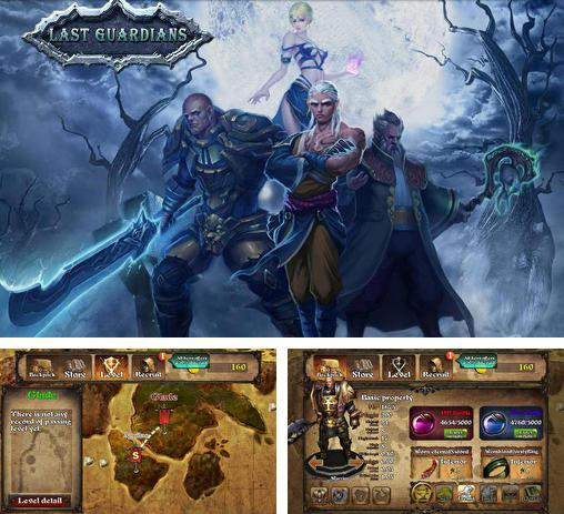 In addition to the game Glory warrior: Lord of darkness for Android phones and tablets, you can also download Last guardians for free.