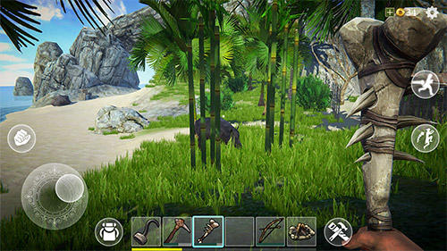 Screenshots do Last pirate: Island survival - Perigoso para tablet e celular Android.