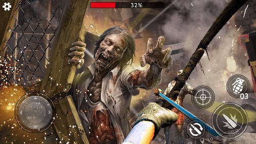Screenshots von Last saver: Zombie hunter master für Android-Tablet, Smartphone.