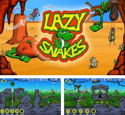 In addition to the game Death Rider for Android phones and tablets, you can also download Lazy Snakes for free.