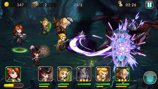 download game league of angels mod apk