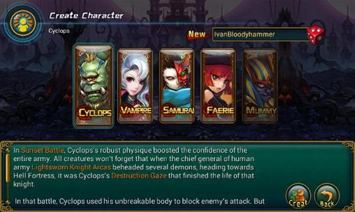 League of devils screenshot 1