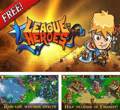 In addition to the game DevilDark: The Fallen Kingdom for Android phones and tablets, you can also download League of Heroes for free.