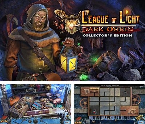 En plus du jeu Evasion: Le marché  pour téléphones et tablettes Android, vous pouvez aussi télécharger gratuitement Ligue de la lumière: Présages. Edition de collection , League of light: Dark omens. Collector's edition.