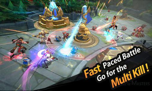 Screenshots von League of masters für Android-Tablet, Smartphone.