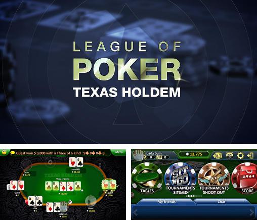 League of poker: Texas holdem