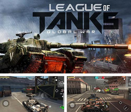 In addition to the game League of tanks: Global war for Android, you can download other free Android games for Sony Xperia X.