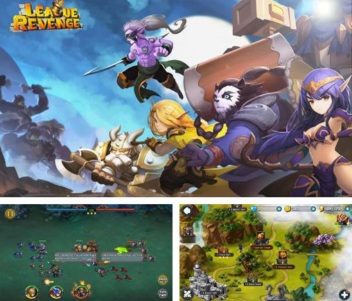 In addition to the game Eternal legend for Android phones and tablets, you can also download League revenge: The last war for free.