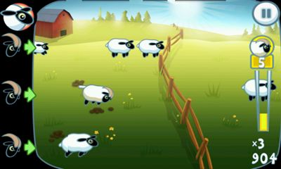 Screenshots von Leap Sheep! für Android-Tablet, Smartphone.