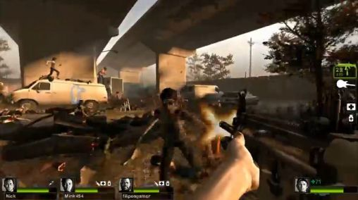 Screenshots von Left 4 dead 2 für Android-Tablet, Smartphone.