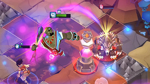 Screenshots von Legacy quest: Rise of heroes für Android-Tablet, Smartphone.