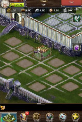 Kostenloses Android-Game Legende des Imperiums: Morgengrauen. Vollversion der Android-apk-App Hirschjäger: Die Legend of empire: Daybreak für Tablets und Telefone.