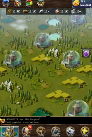 Screenshots von Legend of empire: Daybreak für Android-Tablet, Smartphone.