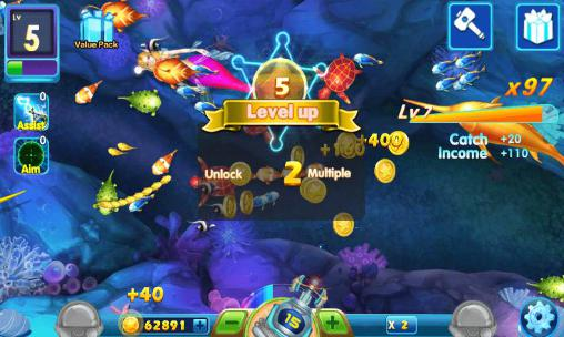 Screenshots do Legend of fishing - Perigoso para tablet e celular Android.