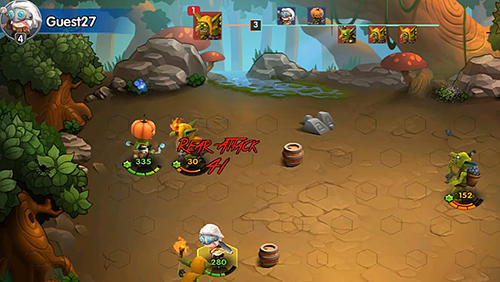 Screenshots von Legend of mighty magic für Android-Tablet, Smartphone.