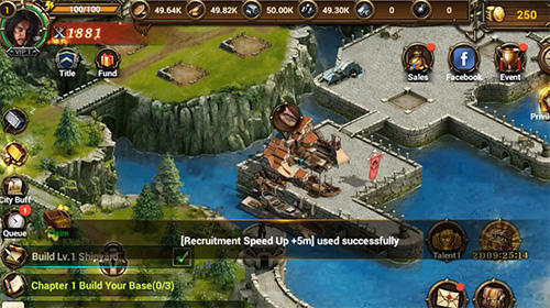 Screenshots do Legend of vikings - Perigoso para tablet e celular Android.
