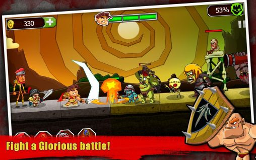 Jogue Legend vs. zombies para Android. Jogo Legend vs. zombies para download gratuito.